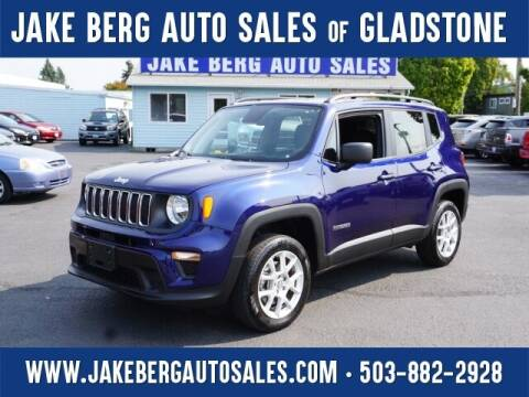 2019 Jeep Renegade for sale at Jake Berg Auto Sales in Gladstone OR