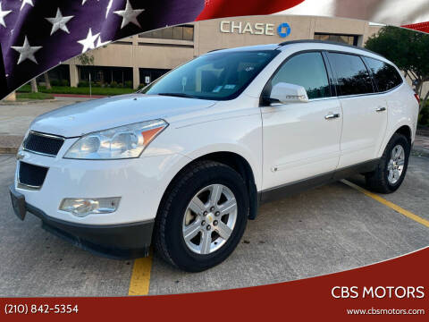 2010 Chevrolet Traverse for sale at CBS MOTORS in San Antonio TX
