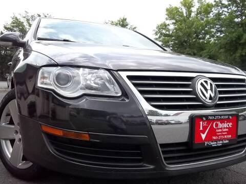 2008 Volkswagen Passat for sale at 1st Choice Auto Sales in Fairfax VA