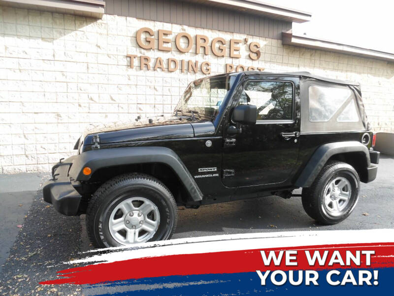 2013 Jeep Wrangler for sale at GEORGE'S TRADING POST in Scottdale PA