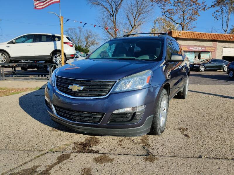 2013 Chevrolet Traverse for sale at Lamarina Auto Sales in Dearborn Heights MI