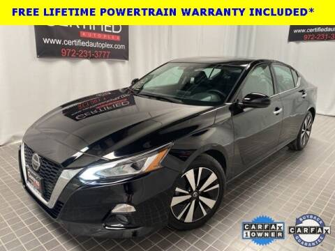 2020 Nissan Altima for sale at CERTIFIED AUTOPLEX INC in Dallas TX