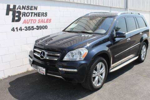2011 Mercedes-Benz GL-Class for sale at HANSEN BROTHERS AUTO SALES in Milwaukee WI