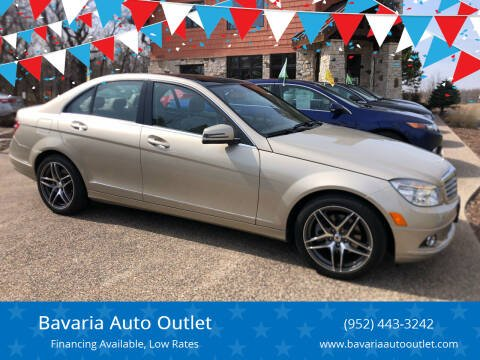 2011 Mercedes-Benz C-Class for sale at Bavaria Auto Outlet in Victoria MN