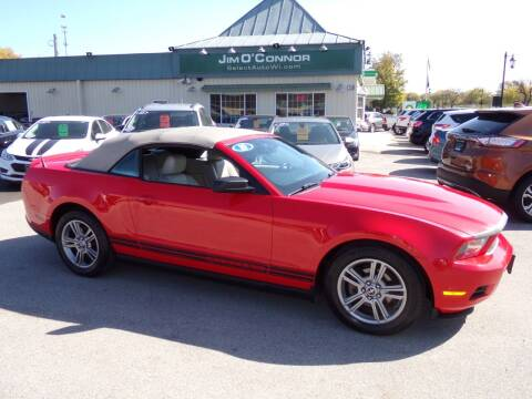2010 Ford Mustang for sale at Jim O'Connor Select Auto in Oconomowoc WI