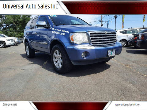 2008 Chrysler Aspen for sale at Universal Auto Sales Inc in Salem OR