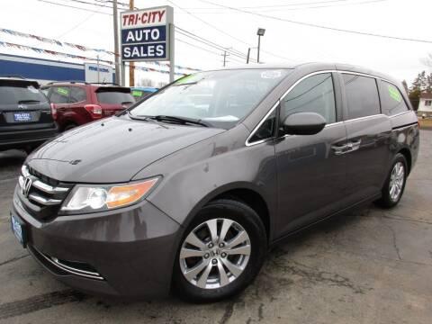 2015 Honda Odyssey for sale at TRI CITY AUTO SALES LLC in Menasha WI