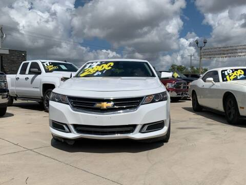 2014 Chevrolet Impala for sale at A & V MOTORS in Hidalgo TX