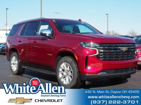 2021 Chevrolet Tahoe for sale at WHITE-ALLEN CHEVROLET in Dayton OH