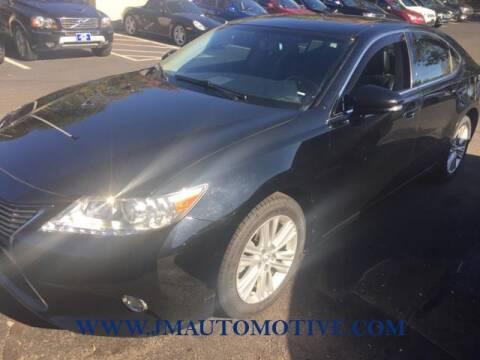 2014 Lexus ES 350 for sale at J & M Automotive in Naugatuck CT