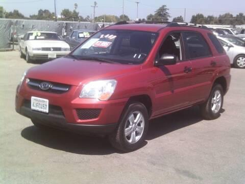 2009 Kia Sportage for sale at Valley Auto Sales & Advanced Equipment in Stockton CA
