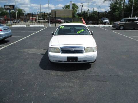1999 Ford Crown Victoria for sale at Highway Auto Sales in Detroit MI