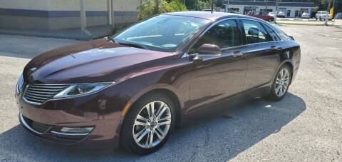 2013 Lincoln MKZ Hybrid for sale at Royal Auto Mart in Tampa FL