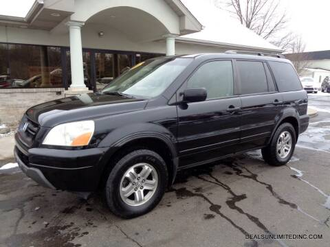 2005 Honda Pilot for sale at DEALS UNLIMITED INC in Portage MI