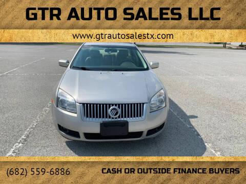 2008 Mercury Milan for sale at GTR Auto Sales LLC in Haltom City TX