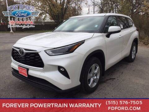 2021 Toyota Highlander for sale at Fort Dodge Ford Lincoln Toyota in Fort Dodge IA