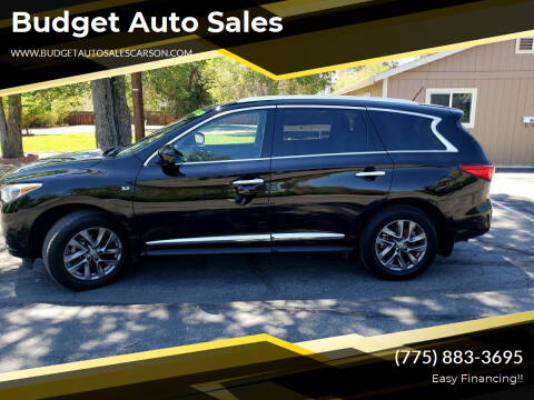 2015 Infiniti QX60 for sale at Budget Auto Sales in Carson City NV