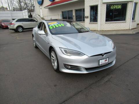 2017 Tesla Model S for sale at Auto Land Inc in Crest Hill IL