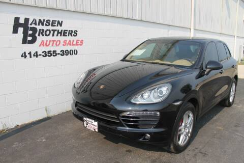 2013 Porsche Cayenne for sale at HANSEN BROTHERS AUTO SALES in Milwaukee WI