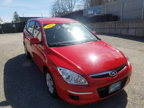 2010 Hyundai Elantra Touring for sale at Fortier's Auto Sales & Svc in Fall River MA