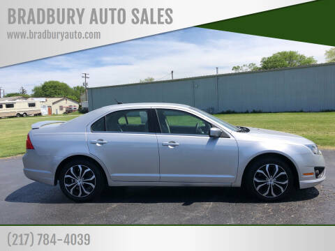 2011 Ford Fusion for sale at BRADBURY AUTO SALES in Gibson City IL
