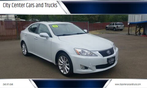 2010 Lexus IS 250 for sale at City Center Cars and Trucks in Roseburg OR