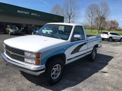 1992 Chevrolet C/K 1500 Series for sale at Martin's Auto in London KY