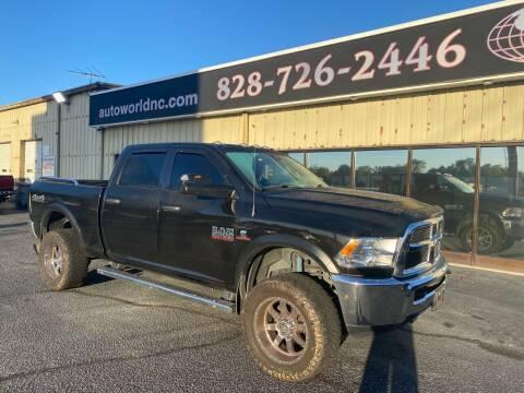 2018 RAM Ram Pickup 2500 for sale at AutoWorld of Lenoir in Lenoir NC
