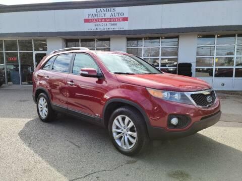 2011 Kia Sorento for sale at Landes Family Auto Sales in Attleboro MA