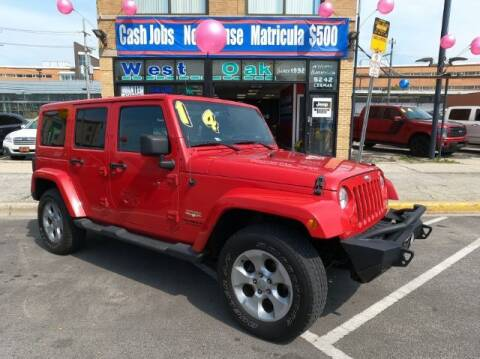 2014 Jeep Wrangler Unlimited for sale at West Oak in Chicago IL