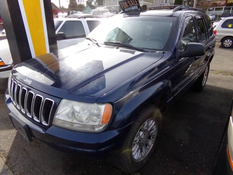 2002 Jeep Grand Cherokee for sale at Signature Auto Sales in Bremerton WA