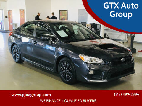 2018 Subaru WRX for sale at GTX Auto Group in West Chester OH