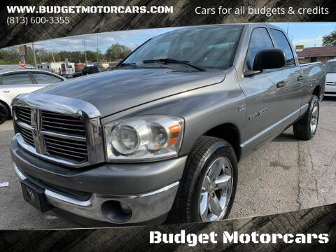 2007 Dodge Ram Pickup 1500 for sale at Budget Motorcars in Tampa FL
