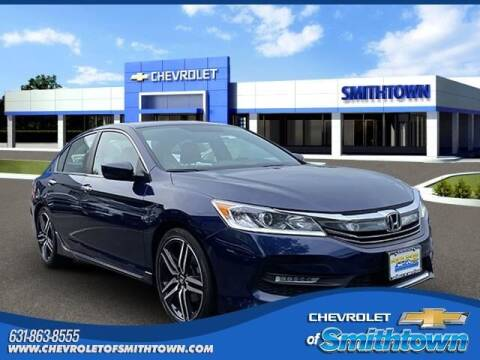 2017 Honda Accord for sale at CHEVROLET OF SMITHTOWN in Saint James NY