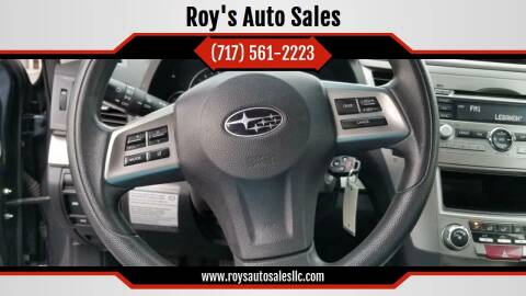 2012 Subaru Legacy for sale at Roy's Auto Sales in Harrisburg PA