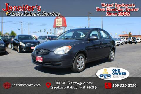 2009 Hyundai Accent for sale at Jennifer's Auto Sales in Spokane Valley WA