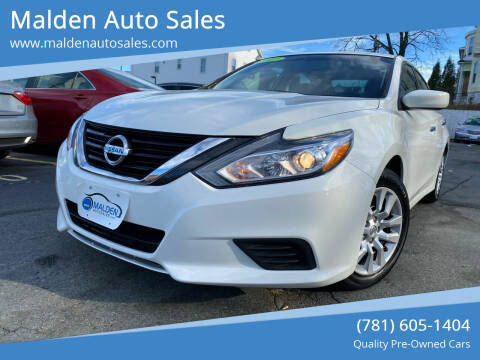 2017 Nissan Altima for sale at Malden Auto Sales in Malden MA