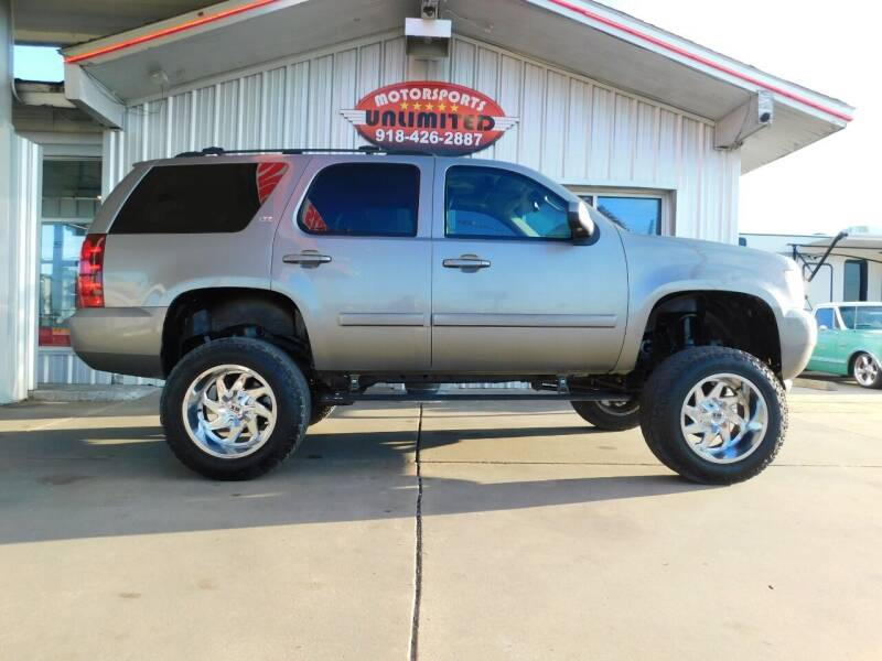 2007 Chevrolet Tahoe for sale at Motorsports Unlimited in McAlester OK