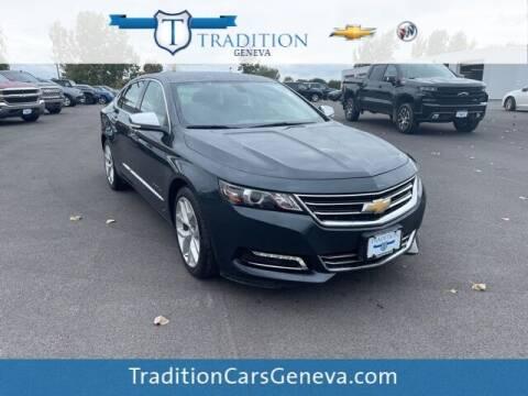 2018 Chevrolet Impala for sale at Tradition Chevrolet Buick in Geneva NY