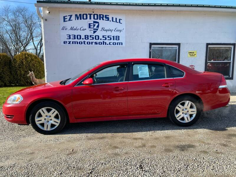 2012 Chevrolet Impala for sale at EZ Motors in Deerfield OH