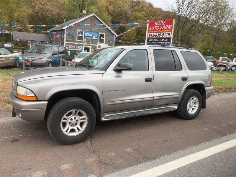 2001 Dodge Durango for sale at Korz Auto Farm in Kansas City KS