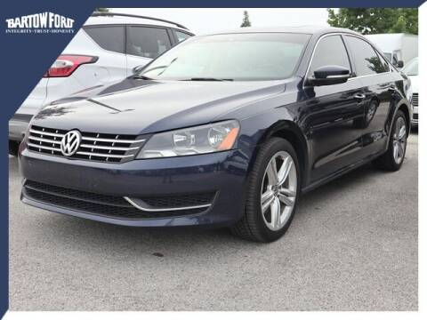 2015 Volkswagen Passat for sale at BARTOW FORD CO. in Bartow FL