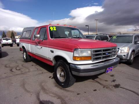 1992 Ford F-150 for sale at Quality Auto City Inc. in Laramie WY