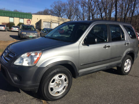 2006 Honda CR-V for sale at BRATTLEBORO AUTO SALES in Brattleboro VT
