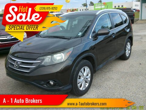 2013 Honda CR-V for sale at A - 1 Auto Brokers in Ocean Springs MS