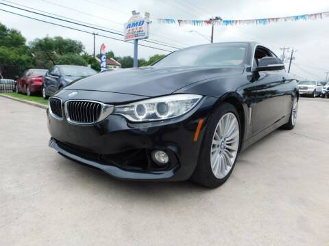 2014 BMW 4 Series for sale at AMD AUTO in San Antonio TX