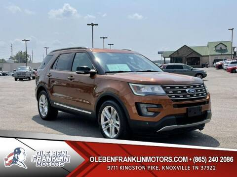 2017 Ford Explorer for sale at Ole Ben Franklin Motors Clinton Highway in Knoxville TN