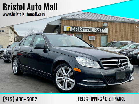 2012 Mercedes-Benz C-Class for sale at Bristol Auto Mall in Levittown PA