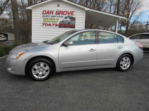 2012 Nissan Altima for sale at Oak Grove Auto Sales in Kings Mountain NC