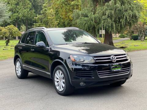 2011 Volkswagen Touareg for sale at Lux Motors in Tacoma WA